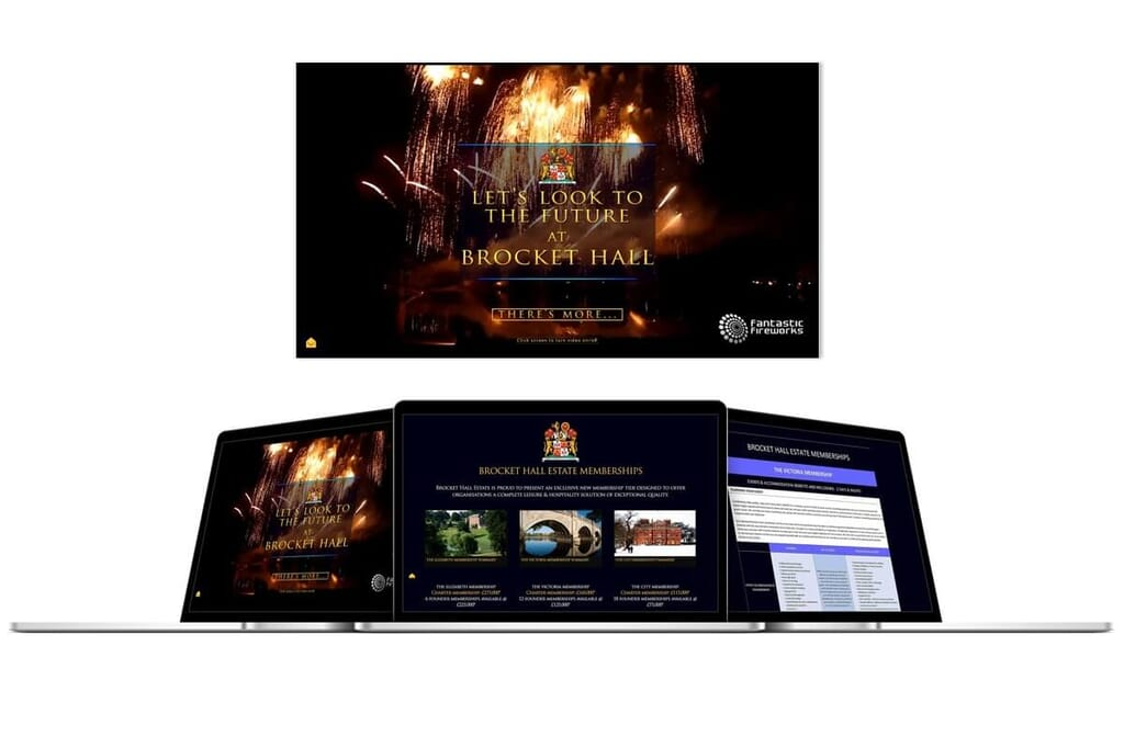 mockup showing campaign website made by Here's the Cavalry