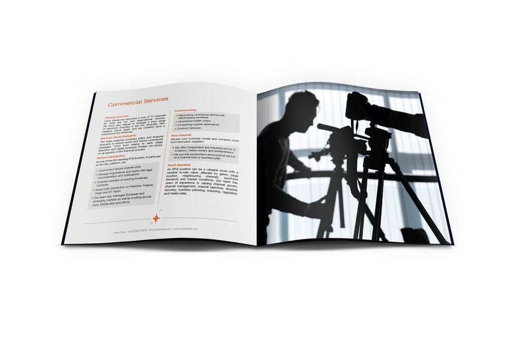 brochure mockup portfolio item made byHere's the Cavalry
