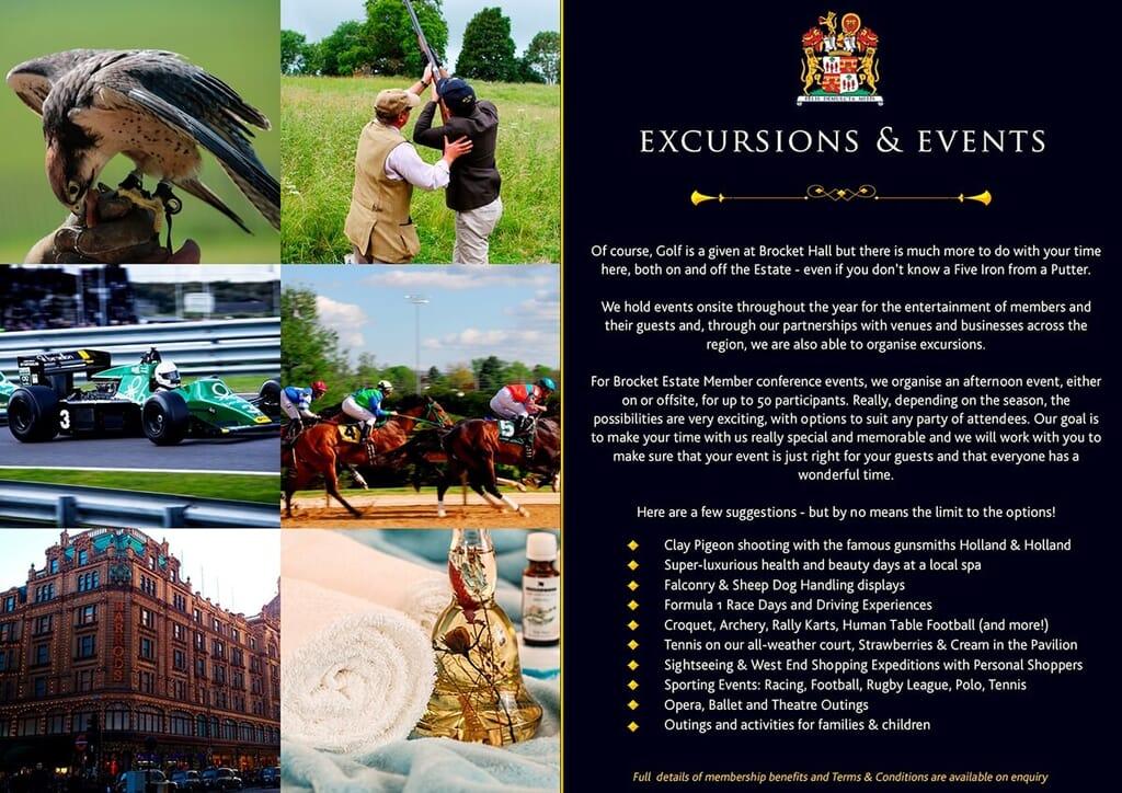 luxury print brochure page portfolio item