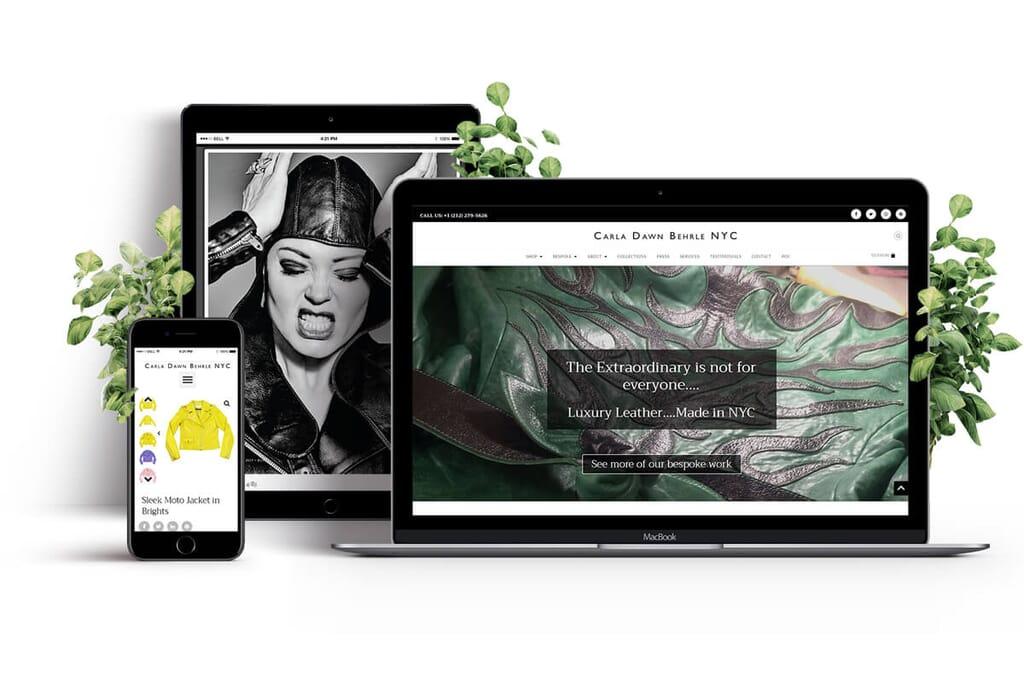 Carla D Behrle portfolio showcase header